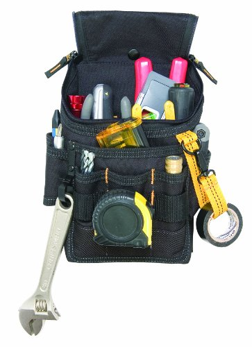 CLC Custom Leathercraft 1524 Ziptop Utility Pouch, Medium