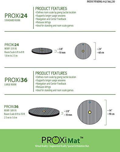Amazon.com: ProxiMat | ProxiOne | Grey | Large | VR Virtual ...