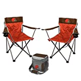 NFL Rookie of the Year Tailgate Bundle - (2 Kickoff Chairs, 1 16 Can Cooler)