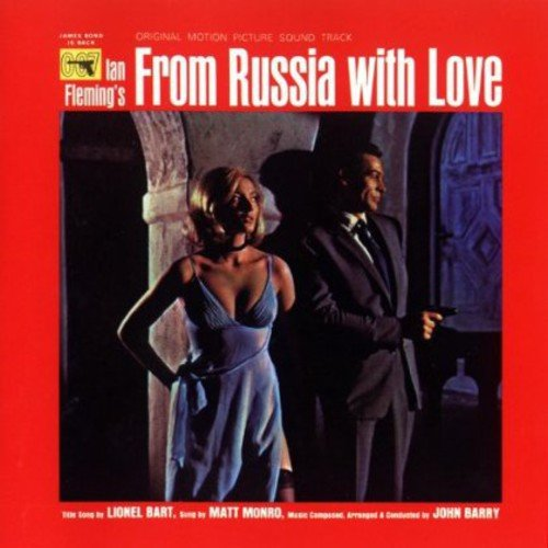 Original album cover of From Russia with Love/O.S.T. by Original Motion Picture Soundtrack