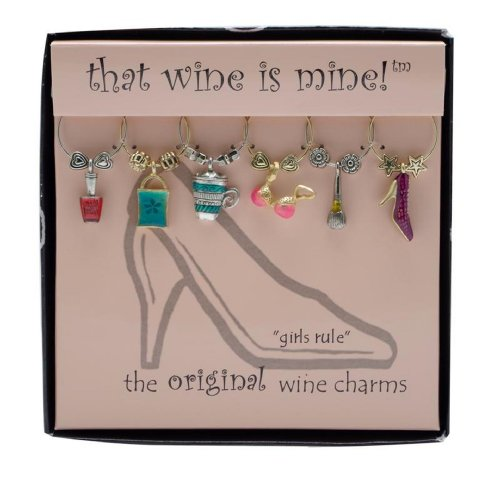 Wine Things WT 1408P Charms Painted product image