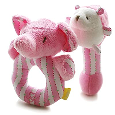 SHILOH Rattle Plush Toy Lovely Kid Children Infant Doll Intelligence Developmental Gift Animals by China Ellewish Co.,Ltd. that we recomend personally.