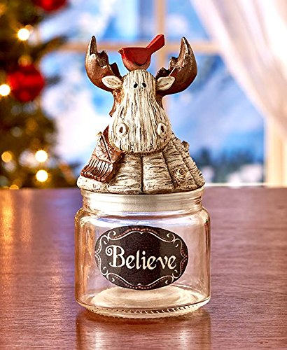 Holiday Reindeer Candy Jars (Candy Jars For Sale compare prices)