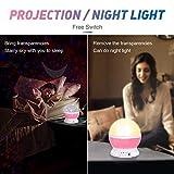 SUNNEST Baby Night Light Moon Star Projector 360