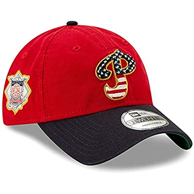 New Era Philadelphia Phillies 2019 Stars & Stripes 4th of July 920 9TWENTY Adjustable Cap Hat