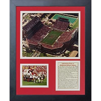 Legends Never Die Oklahoma Sooners Memorial Stadium Framed Photo Collage, 11 by 14-Inch by Legends Never Die