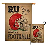 Ornament Collection S191190-BO Ready for Some Football Interests Sports Impressions Decorative Vertical House 28″ X 40″ Garden 13″ X 18.5″ Double Sided Flags Set Printed in USA Multi-Color For Sale