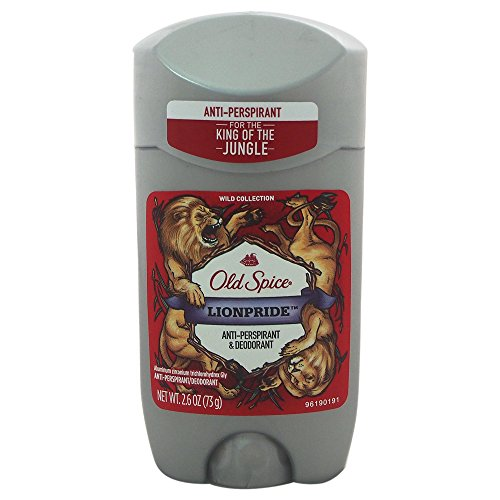 Price comparison product image Old Spice Lionpride Wild Collection Antiperspirant Invisible Solid Deodorant Stick, 2.6 Ounce
