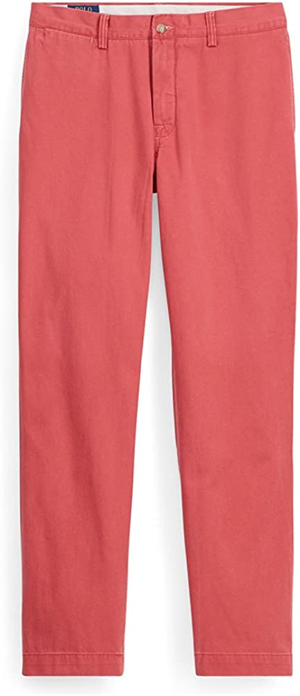 Polo Ralph Lauren Mens Natural-Rise Classic-Fit Chino Pants