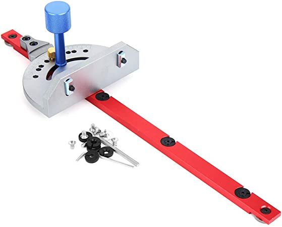 Woodworking DIY Tools Miter Gauge for Table Saw//Router Sawing Accessories Ruler
