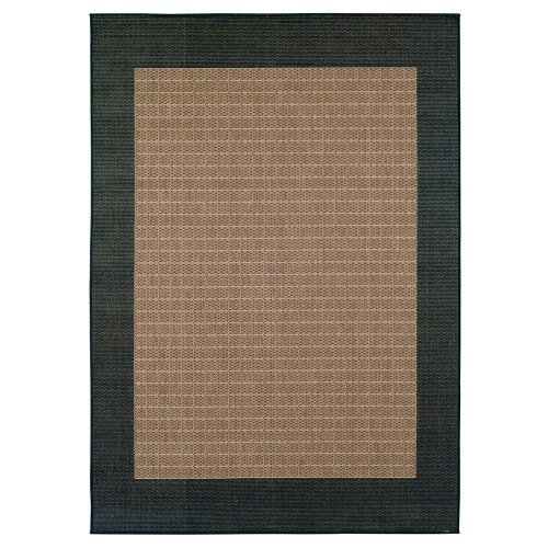 Checkered Field Area Rug, 5'3