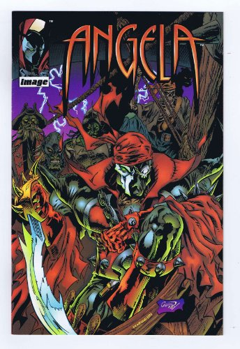Angela #1 Pirate Spawn Variant Cover 1st Print 1995 Image/Comic Pro