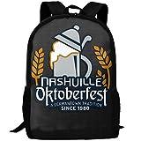 Nashville Oktoberfest Unique Outdoor Shoulders Bag Fabric Backpack Multipurpose Daypacks For Adult