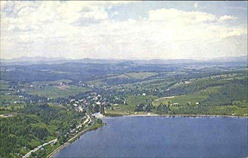 Crystal Barton - Barton And Crystal Lake Barton, Vermont Original Vintage Postcard