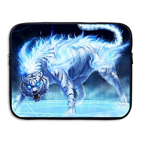 Laptop Storage Bag Tiger Fire With Rage Eyes Portable Waterproof Laptop Case Briefcase Sleeve Bags Cover