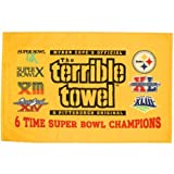 Amazon Price History for:Pittsburgh Steelers 6-Time Super Bowl Champions Gold Terrible Towel