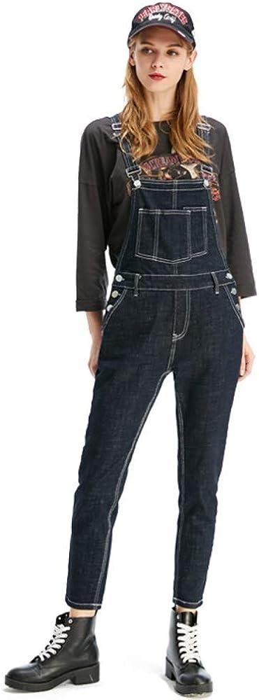Women Clothing Blue Jeans Denim Overalls