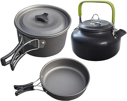 Cxky Utensilios de Cocina de Camping, cocinar al Aire Libre ...