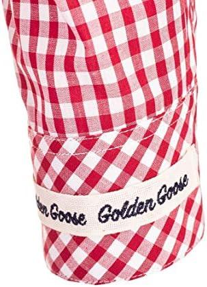 Golden Goose Luxury Fashion Donna G36WP145A1 Rosso Cotone Camicia | Primavera-Estate 20