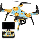 MightySkins Protective Vinyl Skin Decal for 3DR Solo Drone Quadcopter wrap cover sticker skins Orange Slices