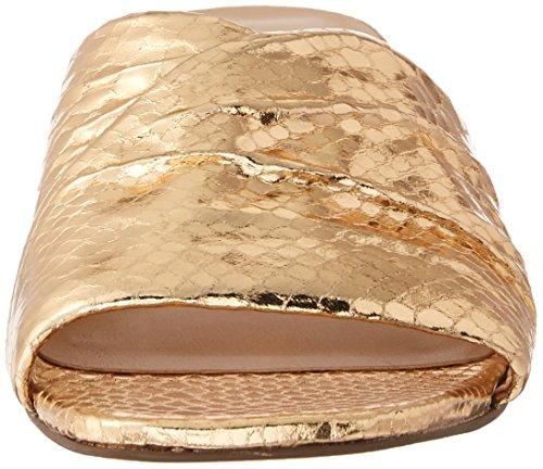 Franco Sarto Femmes Frisco Diapositive Sandale Chaude Or