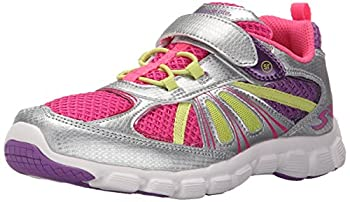 Stride Rite Girls Propel 2 A Running Shoe (Toddler/Little Kid), Silver, 9.5 M US Toddler