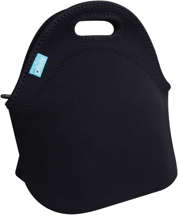 Lady Shay Neoprene Lunch Tote with matching water bottle cover