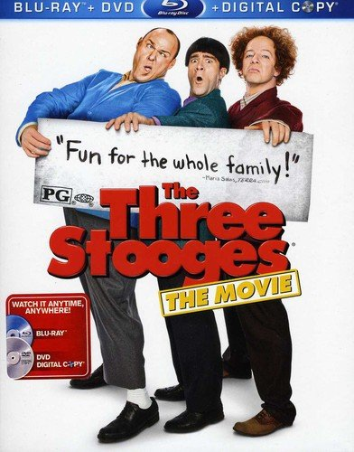 Blu-ray : Three Stooges (Widescreen, Digital Theater System, AC-3, Dolby, Digital Copy)