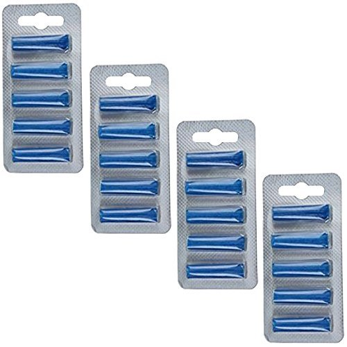 First4Spares Pack Of 20 x Ocean Breeze Fragrance Scent Vacuum Bag Freshener Sticks For All Bagge ...