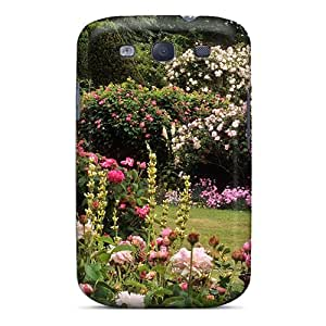 Awesome Case Cover/galaxy S3 Defender Case Cover(roses Garden)