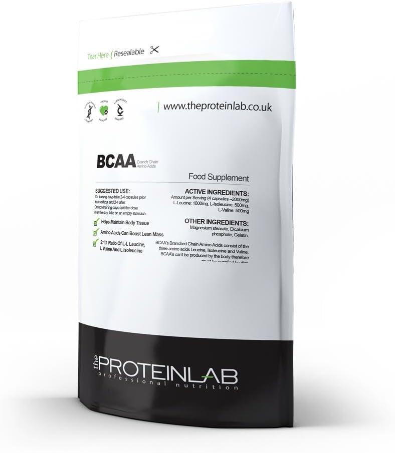 BCAA - 2000mg por Porción - aminoácido de cadena de rama ...