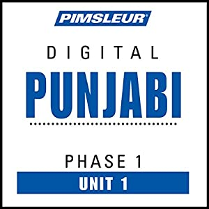 Punjabi Phase 1, Unit 01 Audiobook