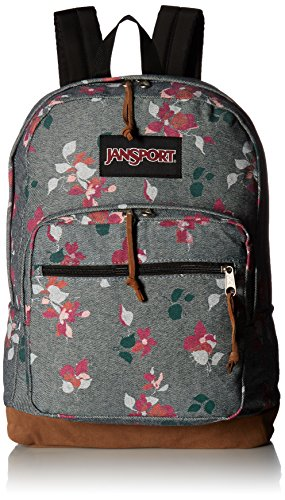 - JanSport Right Pack Expressions (Chambray Sweet Blossome)