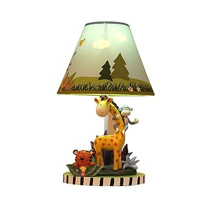 Lámpara de Mesa GYDD Creativa Linda cálida de Dibujos ...
