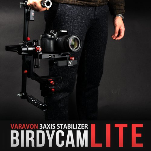 Varavon Birdycam Lite 3-Axis Motorized Camera Stabilizer, 2.5kg Capacity