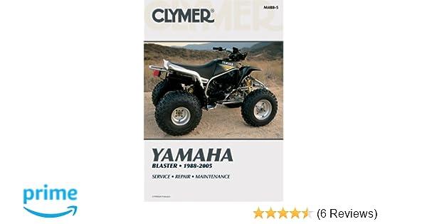 yamaha blaster 1988 2005 clymer manuals motorcycle repair penton rh amazon com 1991 Yamaha Blaster Carb Specs Custom Yamaha Blaster