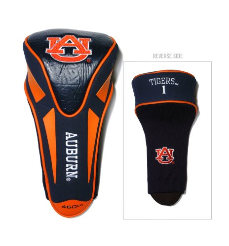 Team Golf NCAA Auburn University Tigers Golf Club Single Apex Driver Headcover, Fits All Oversized Clubs, Truly Sleek Design ()