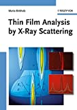 Thin Film Analysis by X-Ray Scattering