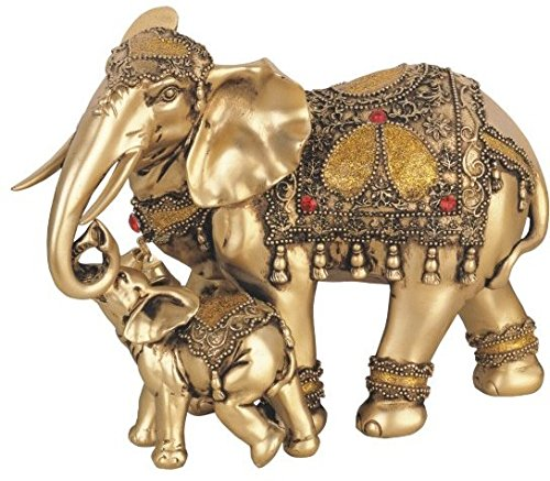 George S. Chen Imports SS-G-88043 Thai Elephant Buddha Buddhist Collectible Statue Figurine ()