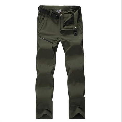 6947d040c1 Amazon.com   Hanxue Men s Casual Cargo Pants Outdoors Work Wear ...