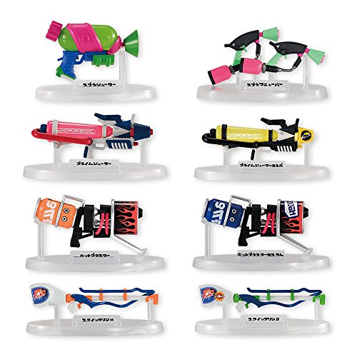 Bandai Shokugan Splatoon 2 Weapons Collection (Set of (Complete Weapons)