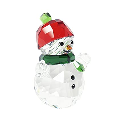 e48a5047e Amazon.com: Swarovski Snowman with Red Hat: Home & Kitchen