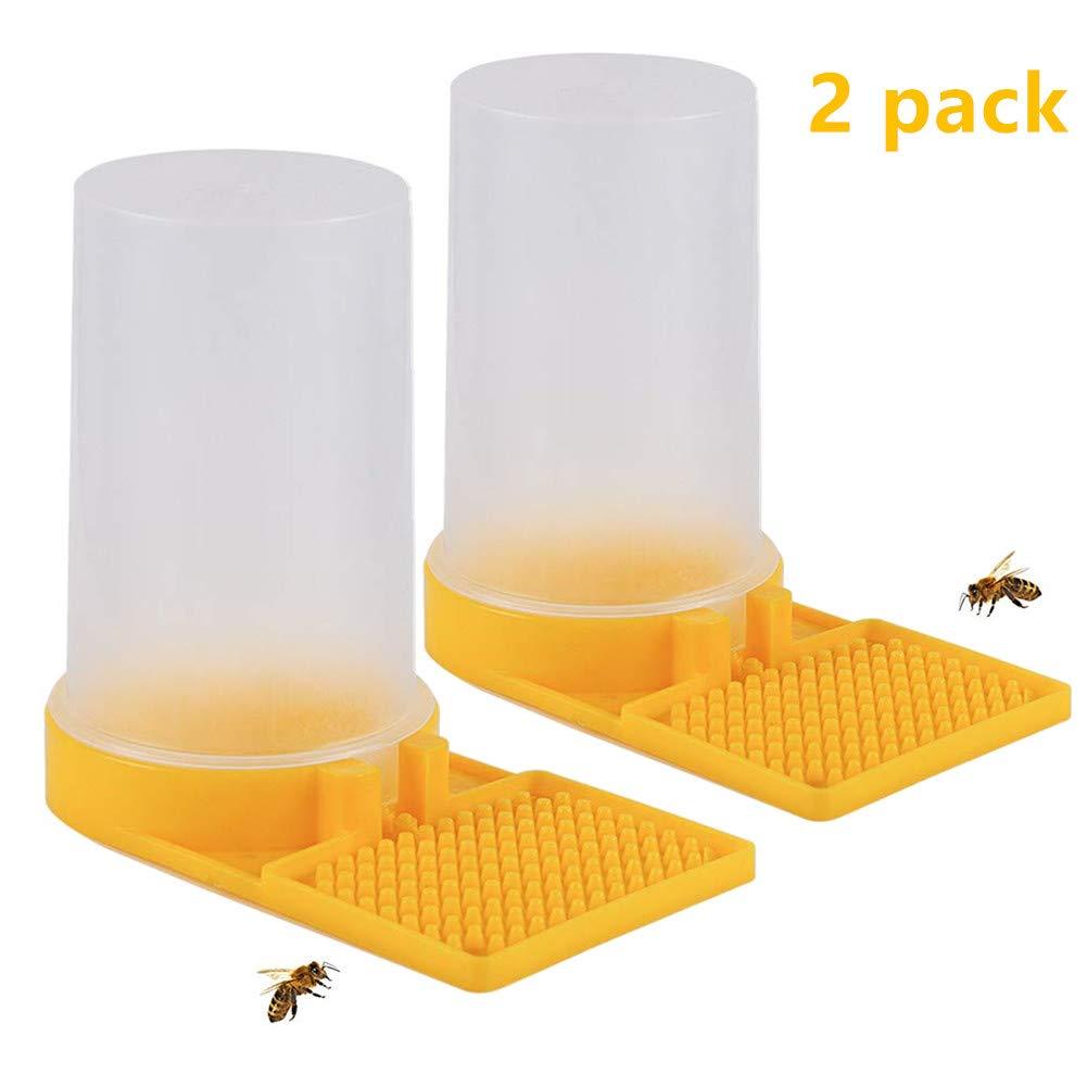 Honey Bee Beehive Entrance Drinking Beekeeping Equipment Water Feeder