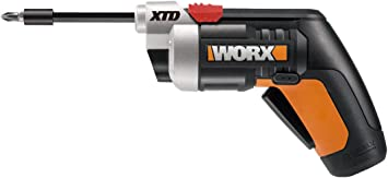 Worx 4 Volt Cordless XTD Extended Reach Screwdriver 230 RPM Auto Spindle Lock