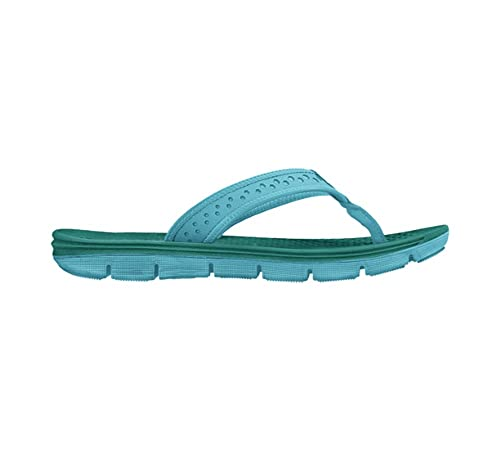 e0c53ab63b0 Nike Womens Flex Motion Thong Teal Blue 7  Amazon.ca  Shoes   Handbags