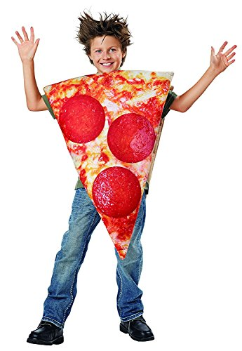 Kids Pizza Costume (Seasons Kid's Pizza Slice Costume (4-12 Years)