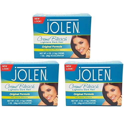 - Jolen Creme Bleach Regular 4 oz. (Set of 3)