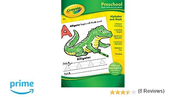 Amazon.com: Bendon Publishing Crayola Preschool Basic Skills ...