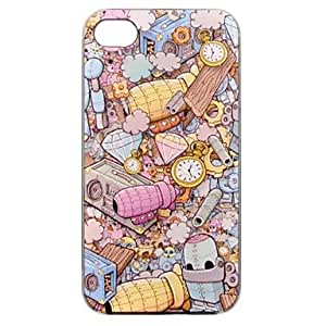LZX Beautiful Ultrathin Coloured Drawing or Pattern PC Hard Case for iPhone 4/4S