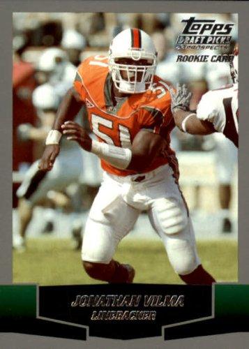 2004 Topps Draft Picks and Prospects Football Rookie Card #156 Jonathan Vilma Mint (2004 Topps Draft)